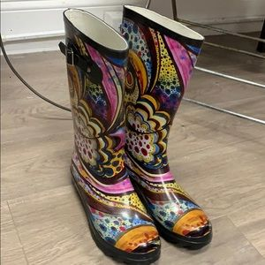 Shoes - NEW COLORFUL RAIN BOOTS 👢